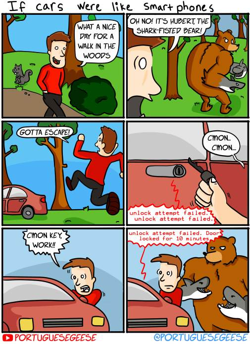 If Cars were like smartphones