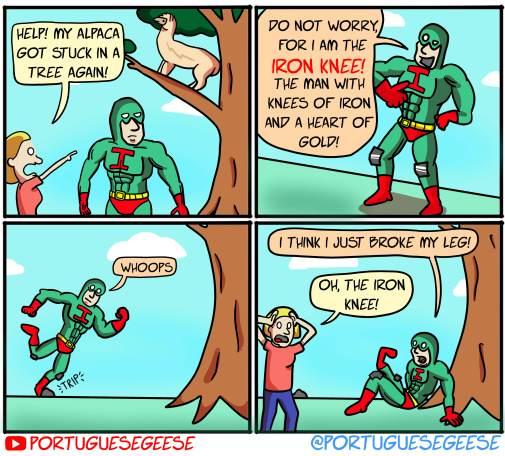 The Iron Knee!