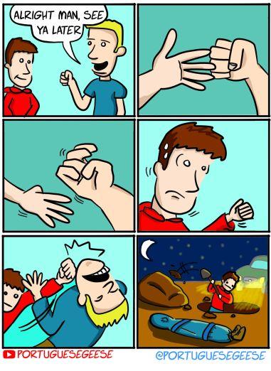 Handshake or Fist Bump